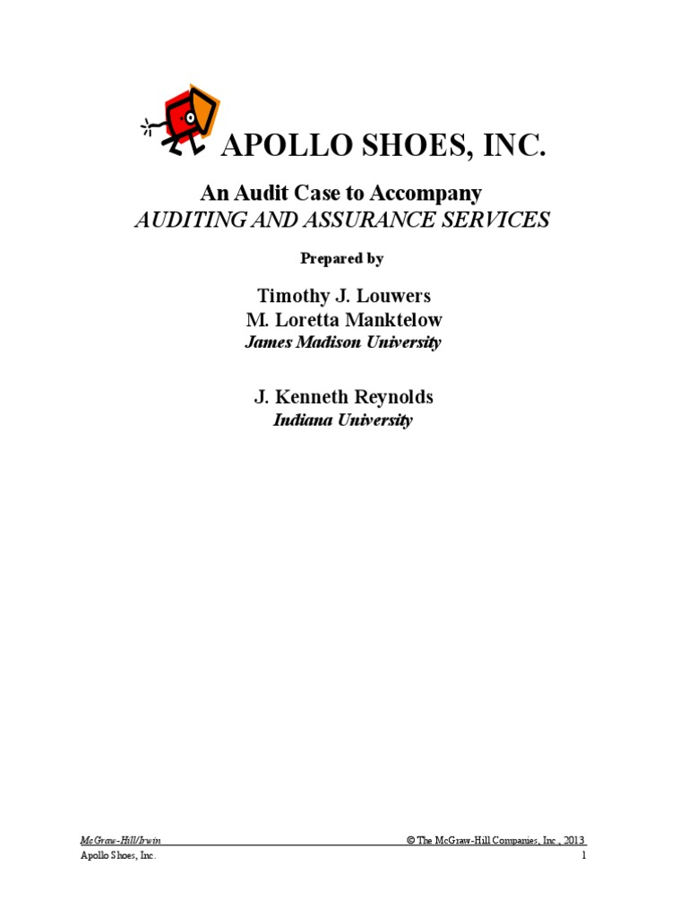 """apollo shoes case audit staffing memo Legal aspects of staffing case study: starbucks' structure review the case study found in chapter 3 of your text titled """"starbucks."""