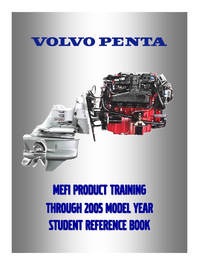 Volvo Penta MEFI Product Training 2005 STUDENT REFERENCE BOOK ...