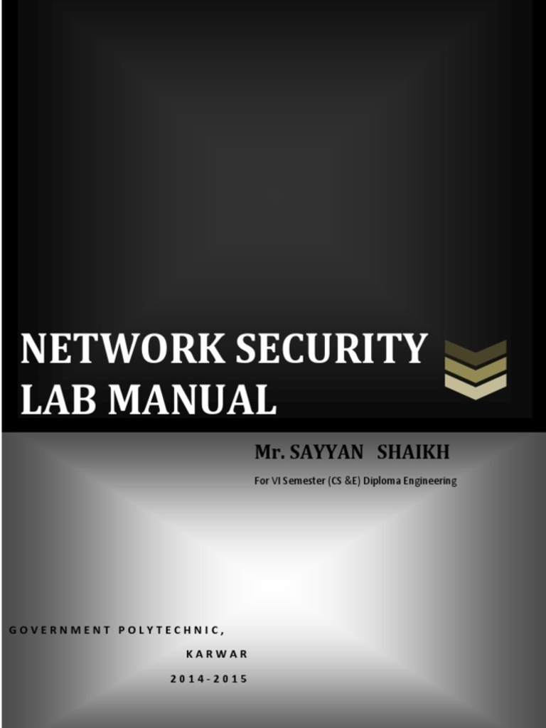 Cryptography And Network Security Lab Manual In C