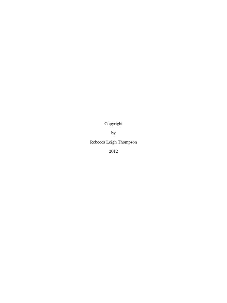Thompson Dissertation Docshare Tips