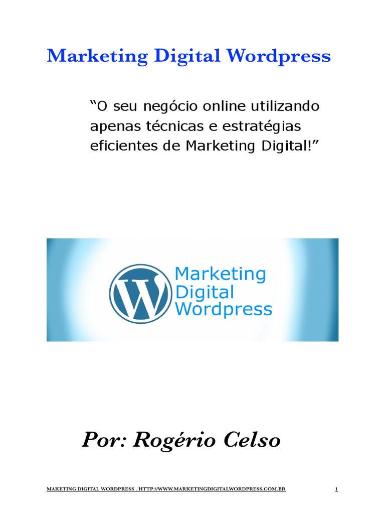 Download ebook wordpress decoded for businesses docshare ebook marketing digital wordpress malvernweather Image collections