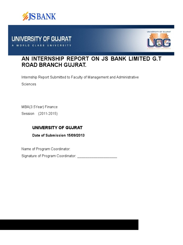 internship report bank Internship report onallied bank of pakistan internship report submitted to the national universty of modern languages and sciences to ful.