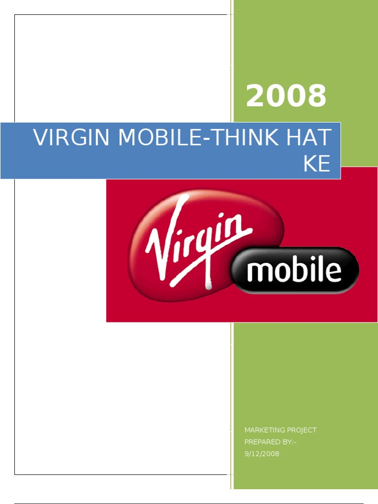 solution of virgin mobile usa pricing for the very first time Virgin mobile usa: pricing for the very first time company introduction case issue of concern analysis virgin response conclusion recommendations inviting questions 2 company case issue of concern virgin,.