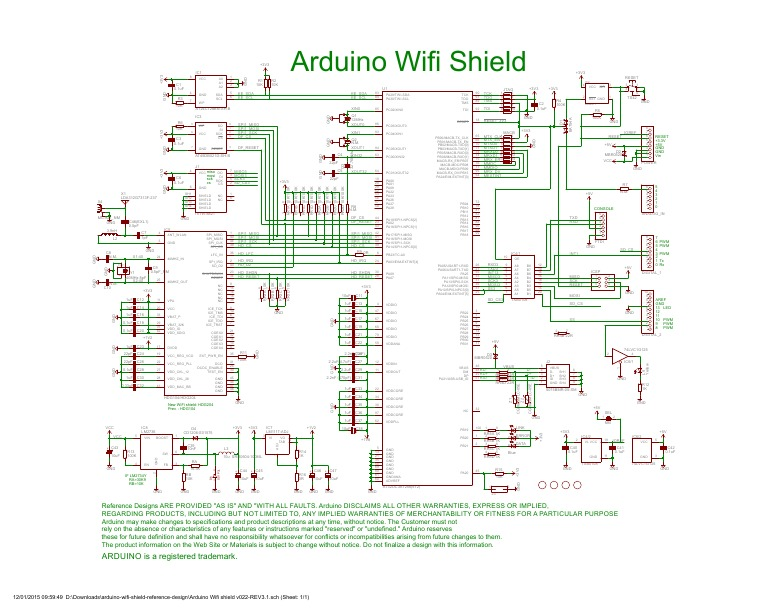 Arduino wifi shield schematic docshare tips