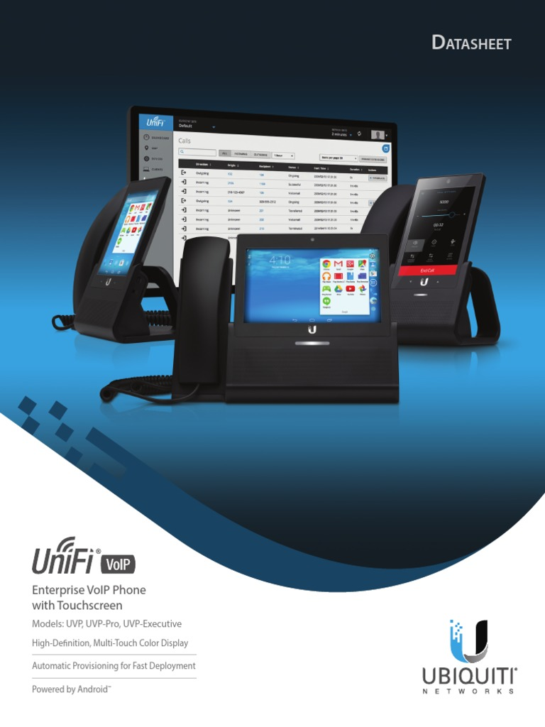 Download UniFi VoIP Phone DS - DocShare tips