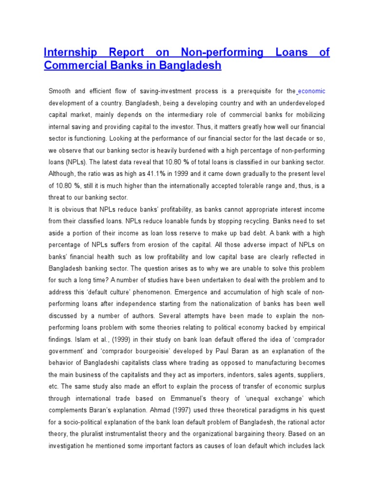 intern report on banking sector Internship report on a bank chapter banking sector can play a vital role to improve the overall social internship report sample.