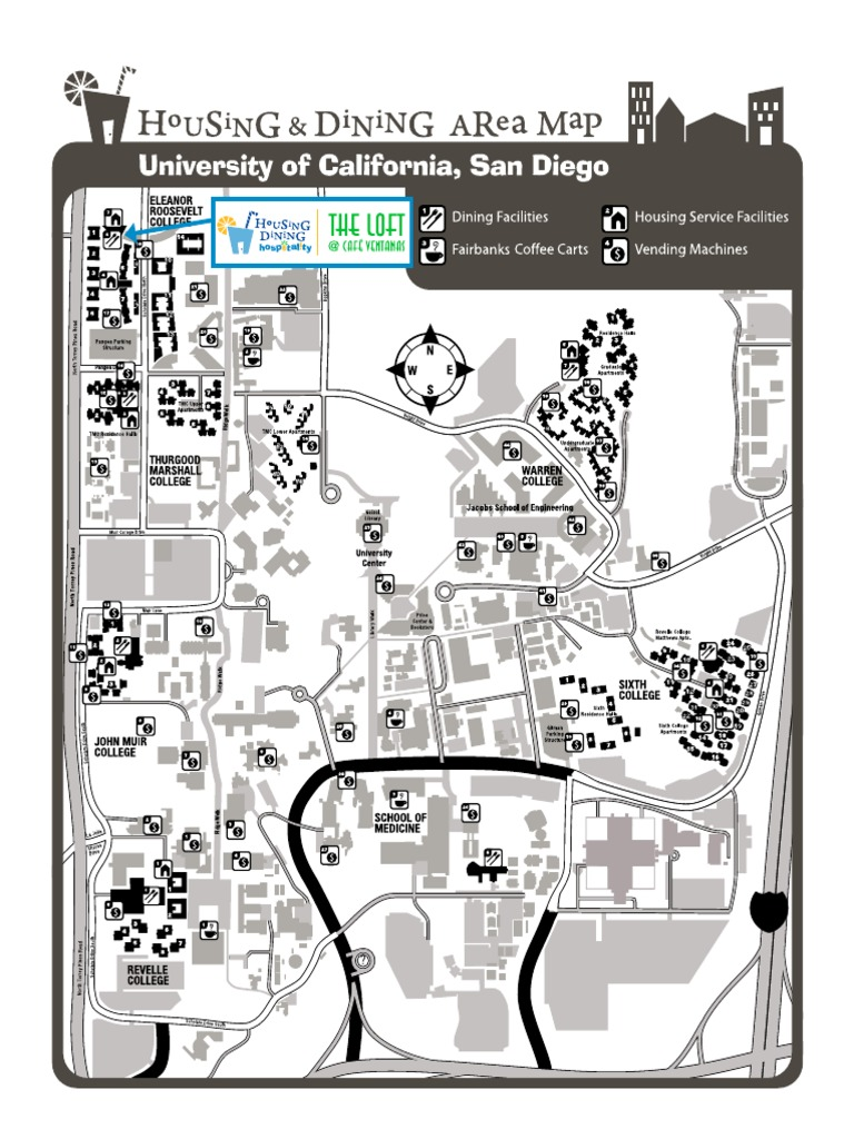 99 Ucsd Campu Map Ngn Upgrade De Example Resume And Cover Letter