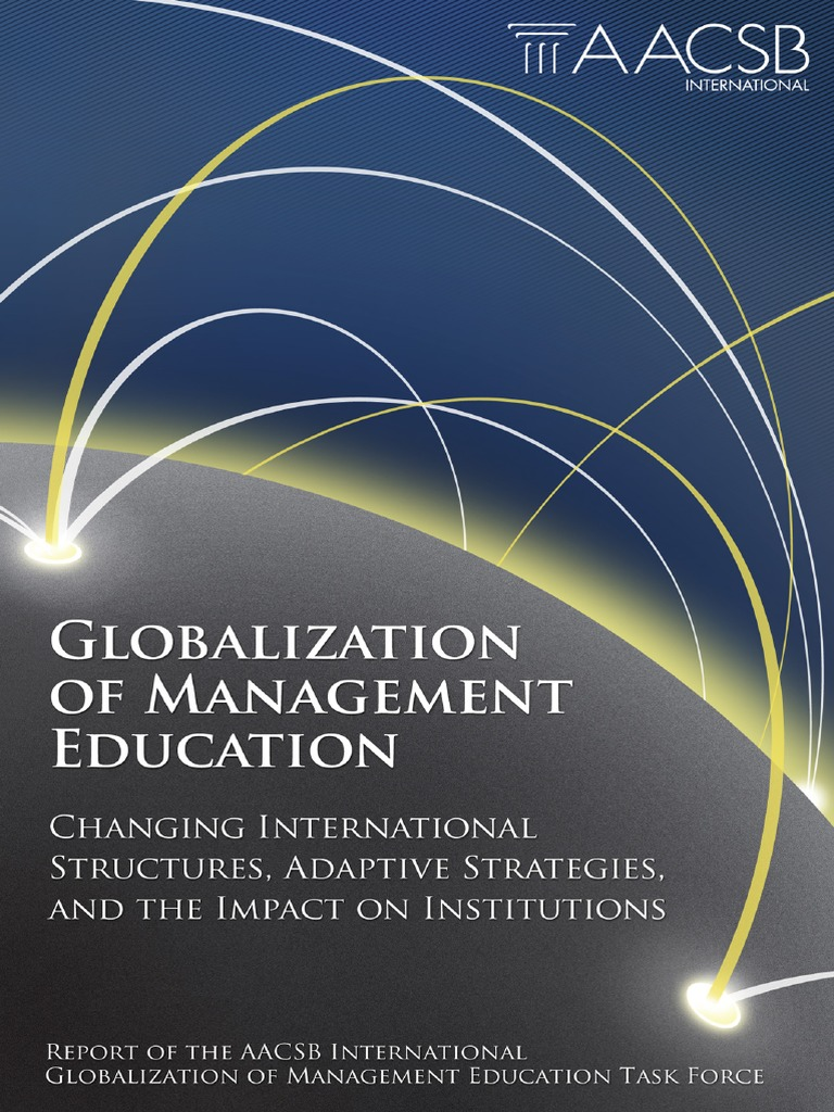 impact of management in globalization of Global journal of management and business research impact of training and development on mpact of training and development on organizational.
