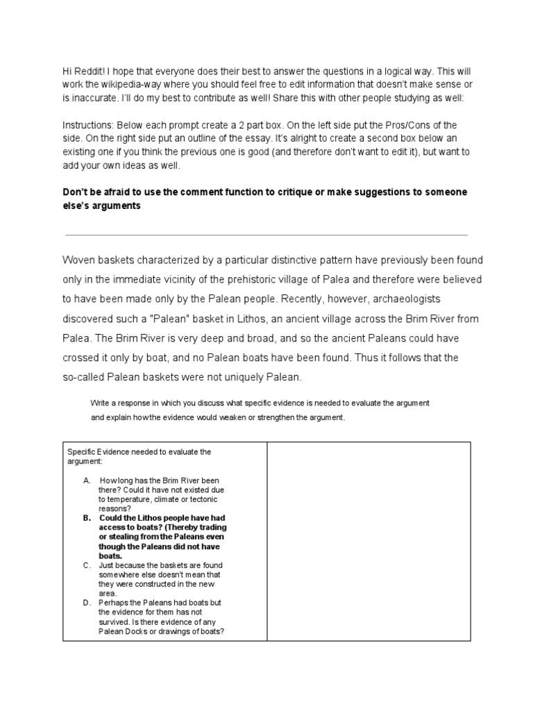 Gre argument essay tips