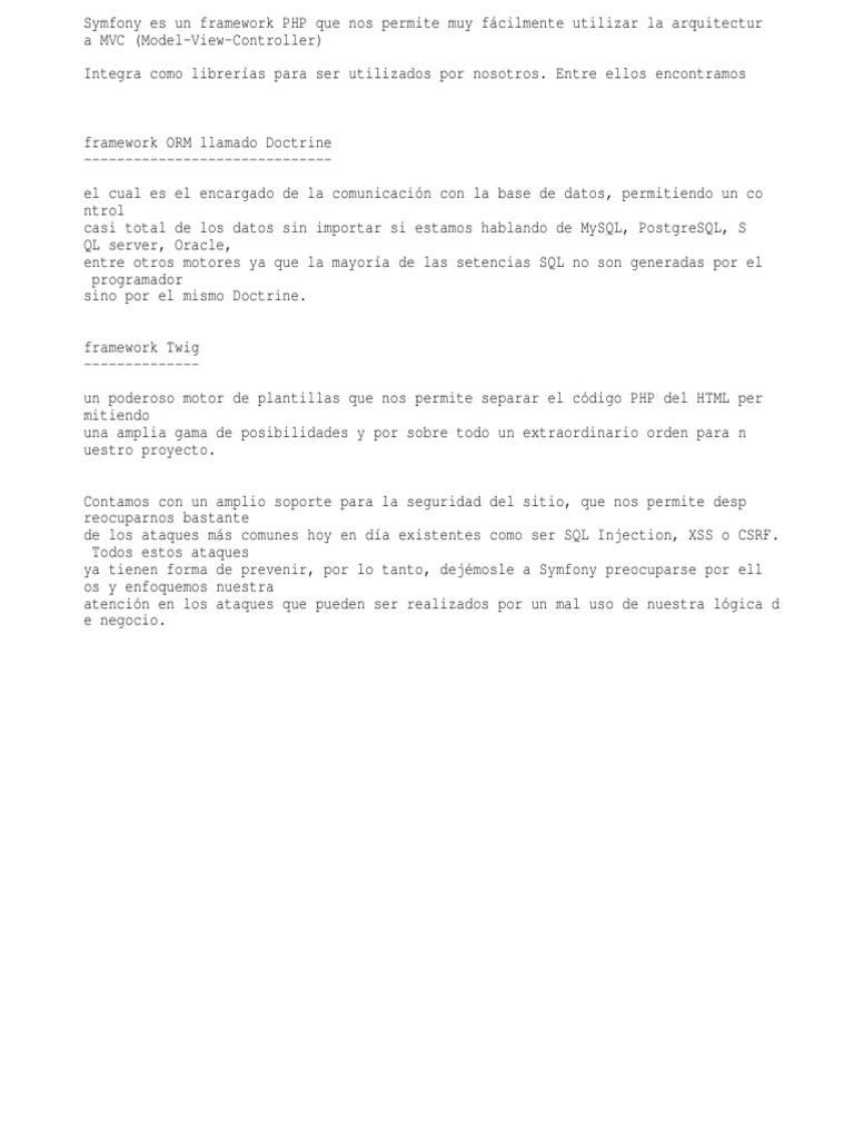 Bonito Plantilla Symfony Componente - Ejemplo De Colección De ...