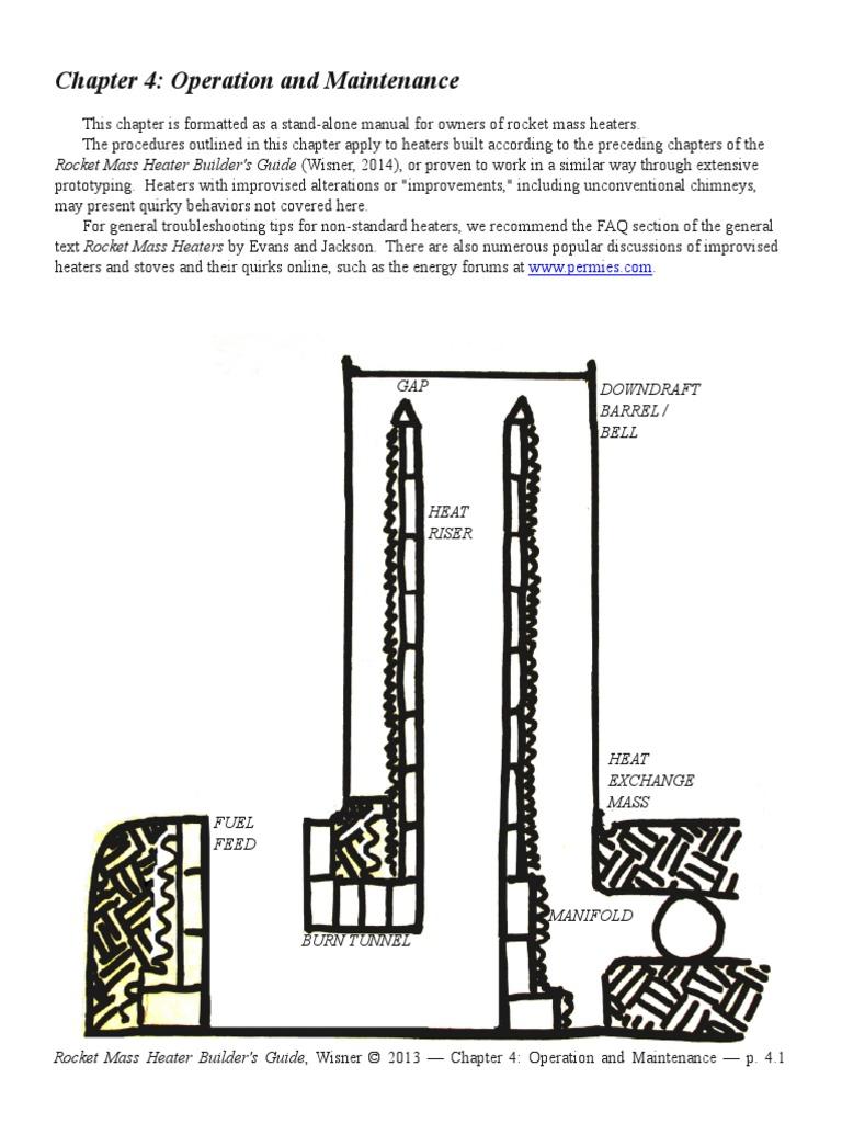 Download Rocket Stove Mass Heater Diagram Manual