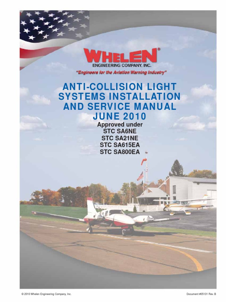 Whelen Strobe Light Troubleshooting 9m4s Wiring Anti Collision Systems Installation And Service Manual Docsharetips