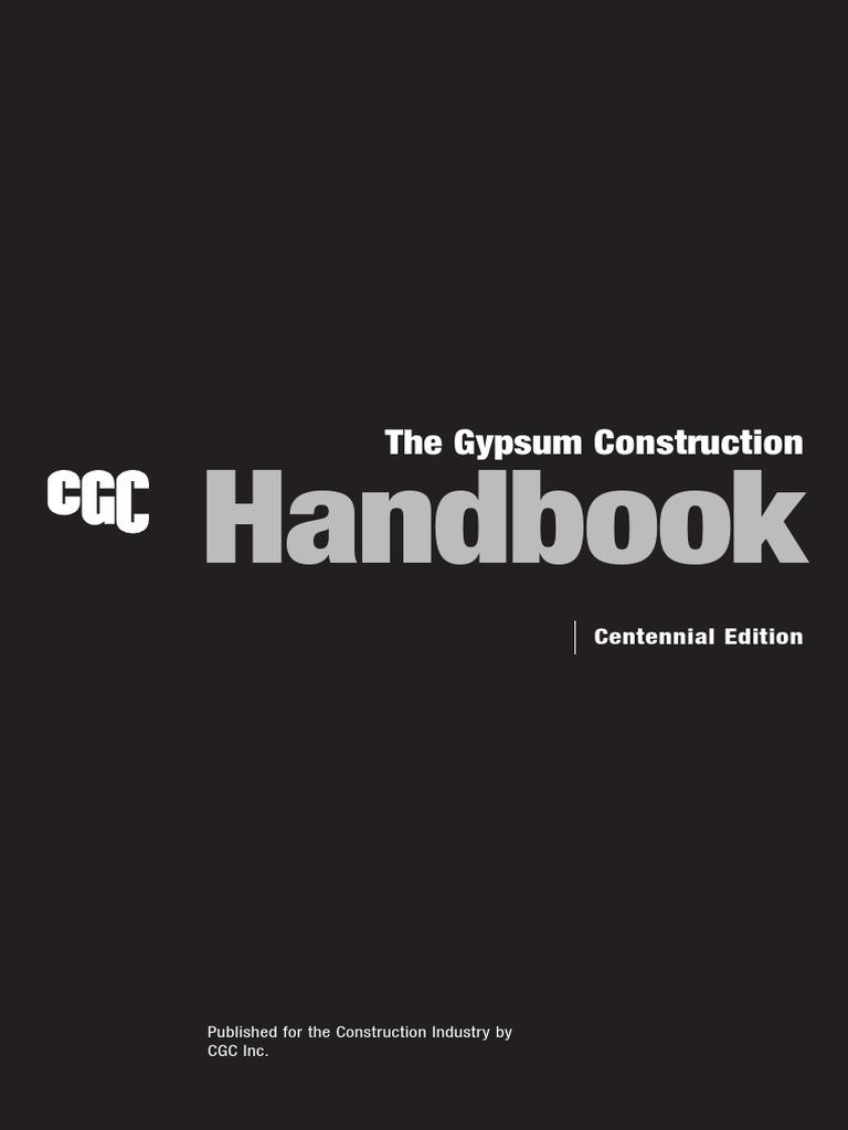 Cgc Construction Handbook Intro Can En PDF Doc