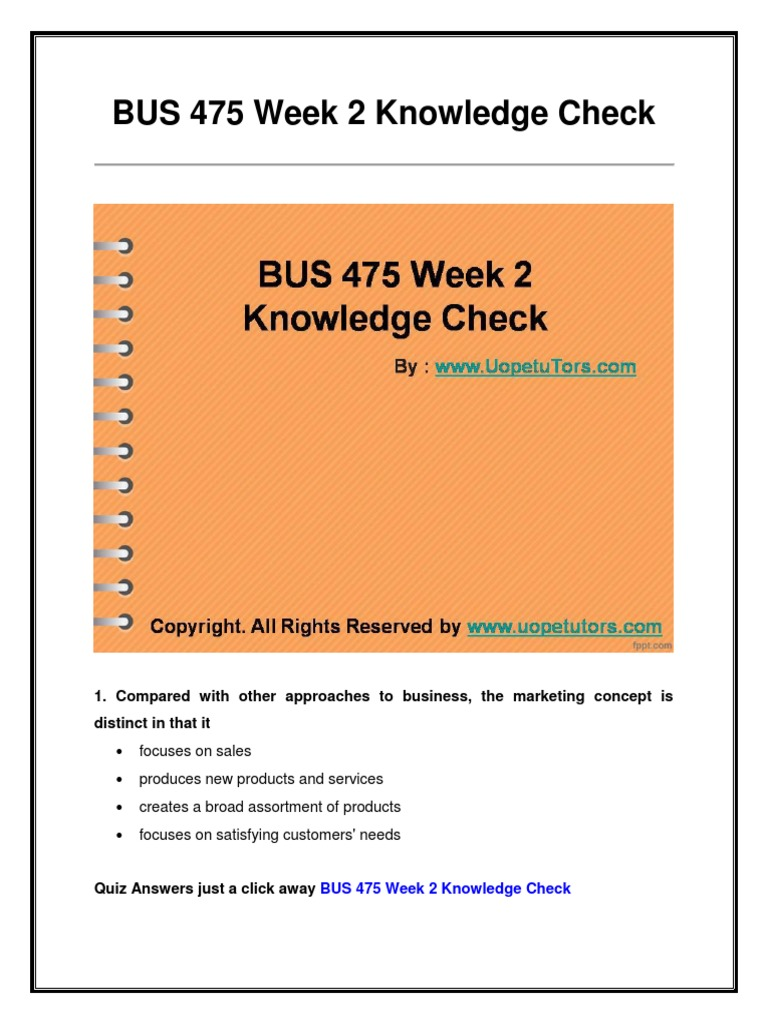 bus 475 answers quiz Answer question 2 3 out of 3 points a number of european countries require public companies to include employee members on their bus 475 week 1 quiz 1 chapter 1.
