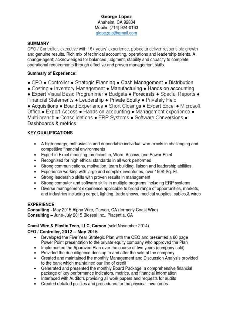 Download Security Officer Part Time in Orange County CA Resume ...