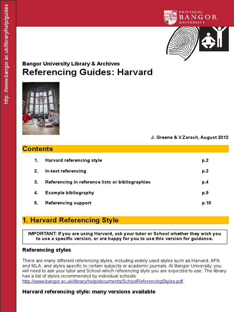 harvard style guide