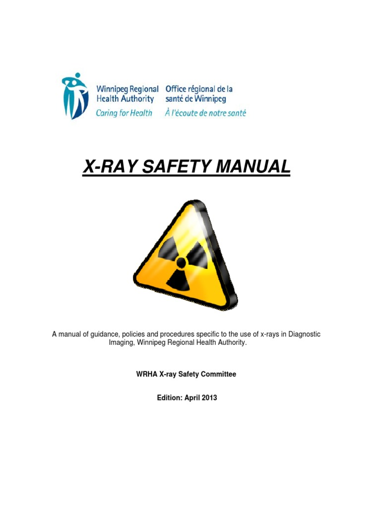 radiation safety manual
