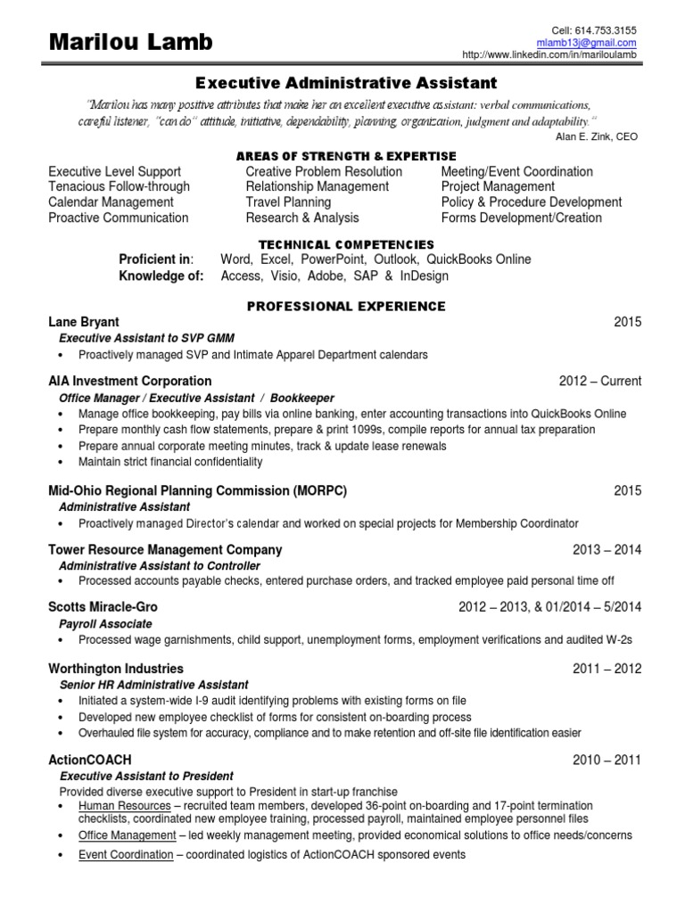 Download health system director administrator in columbus oh executive administrative assistant in columbus oh resume marilou lamb 1betcityfo Choice Image
