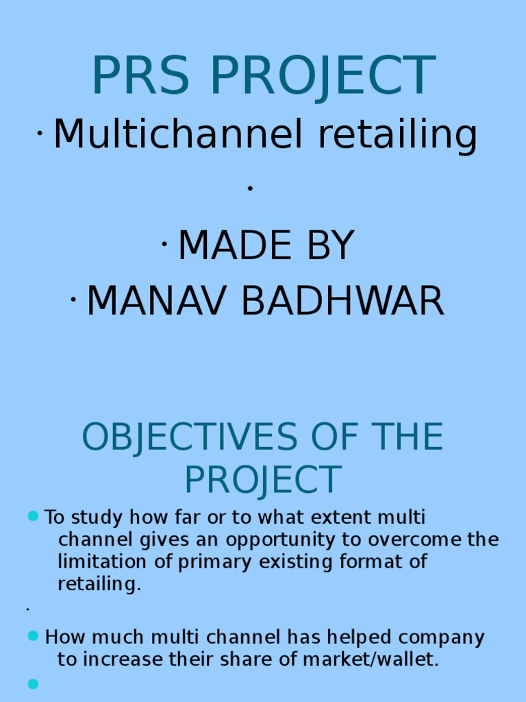 multichannel retailing The difference between multichannel and omnichannel really comes down to a company's approach to digital channels, says stacy schwartz, a digital marketing expert, consultant, and adjunct professor at rutgers business school.