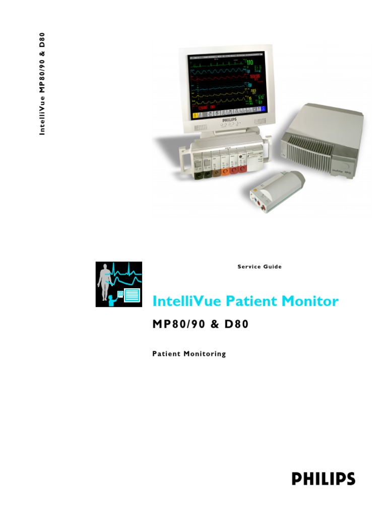 philips intellivue mp50 service manual
