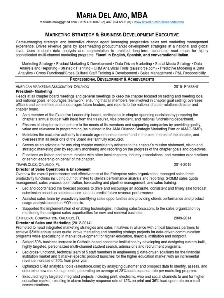 download vp director sales marketing ecommerce in orlando fl resume