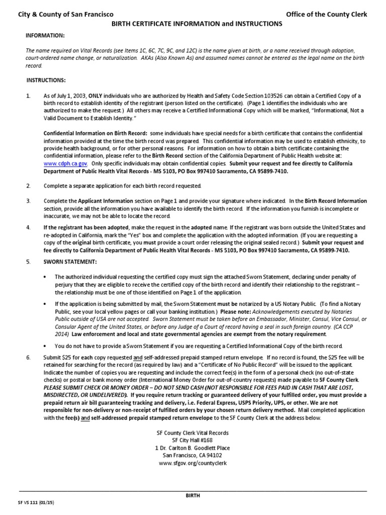 Download Birth Certificate Bond Docshare