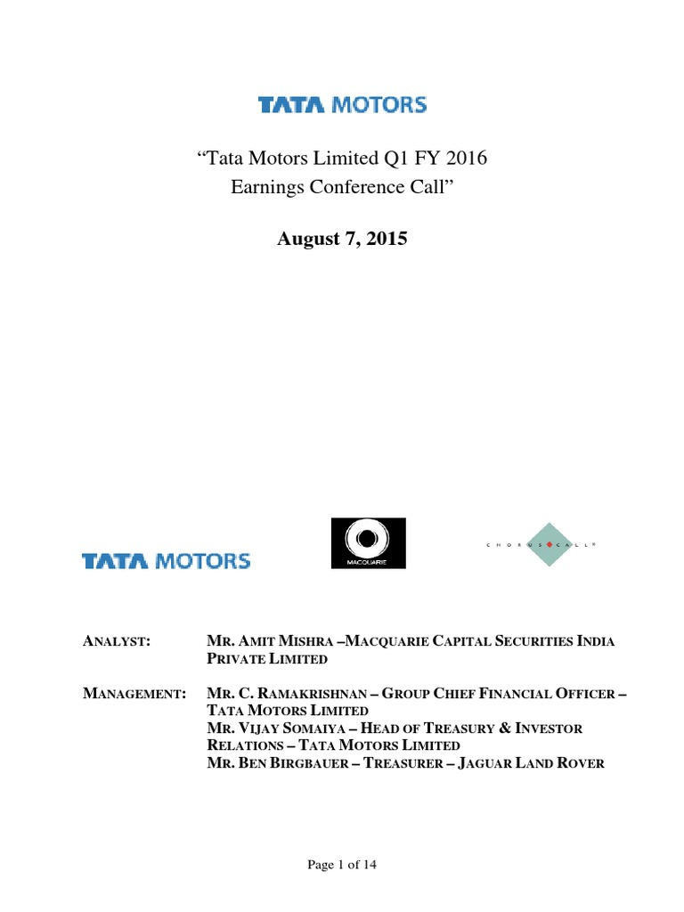 critical analysis of tata jlr