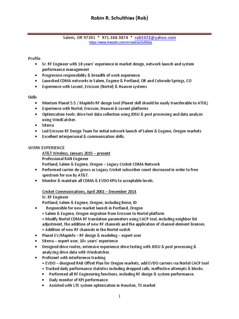 ericsson rf engineer productions assistant jobs design templates