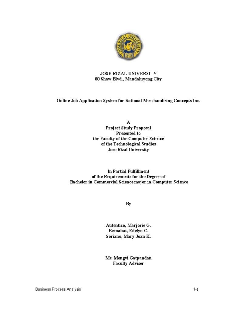 jru thesis format