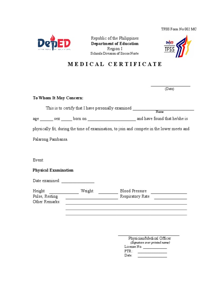 Download medical certificate docshare medical certificate 1betcityfo Gallery
