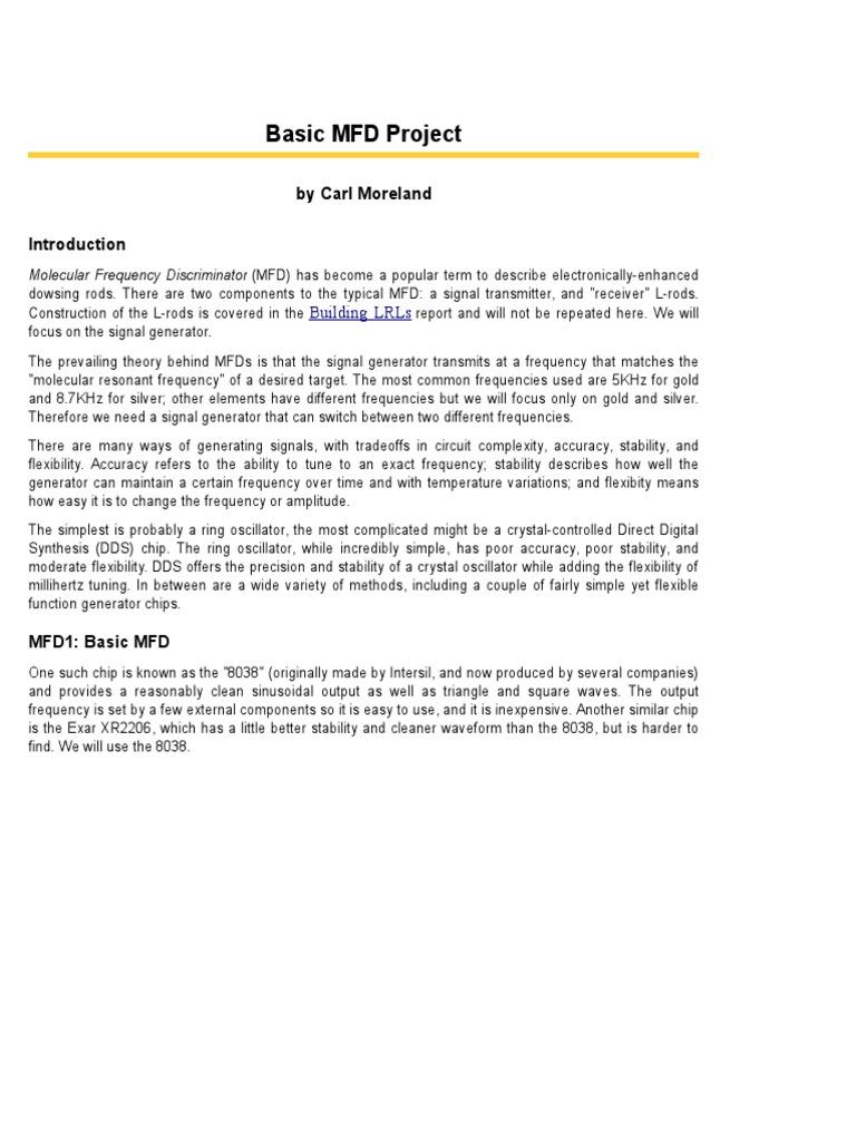 Manual Diagrama Detector De Metales 8038 Function Generator Circuit Automotivecircuit Diagram
