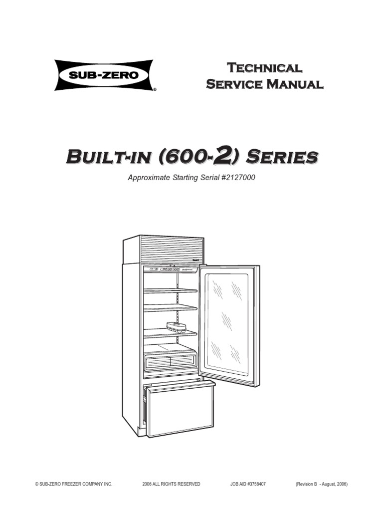 download 3757400 sub zero 600 series docshare tips rh docshare tips  sub-zero 500 series refrigerator tech & service manual ...