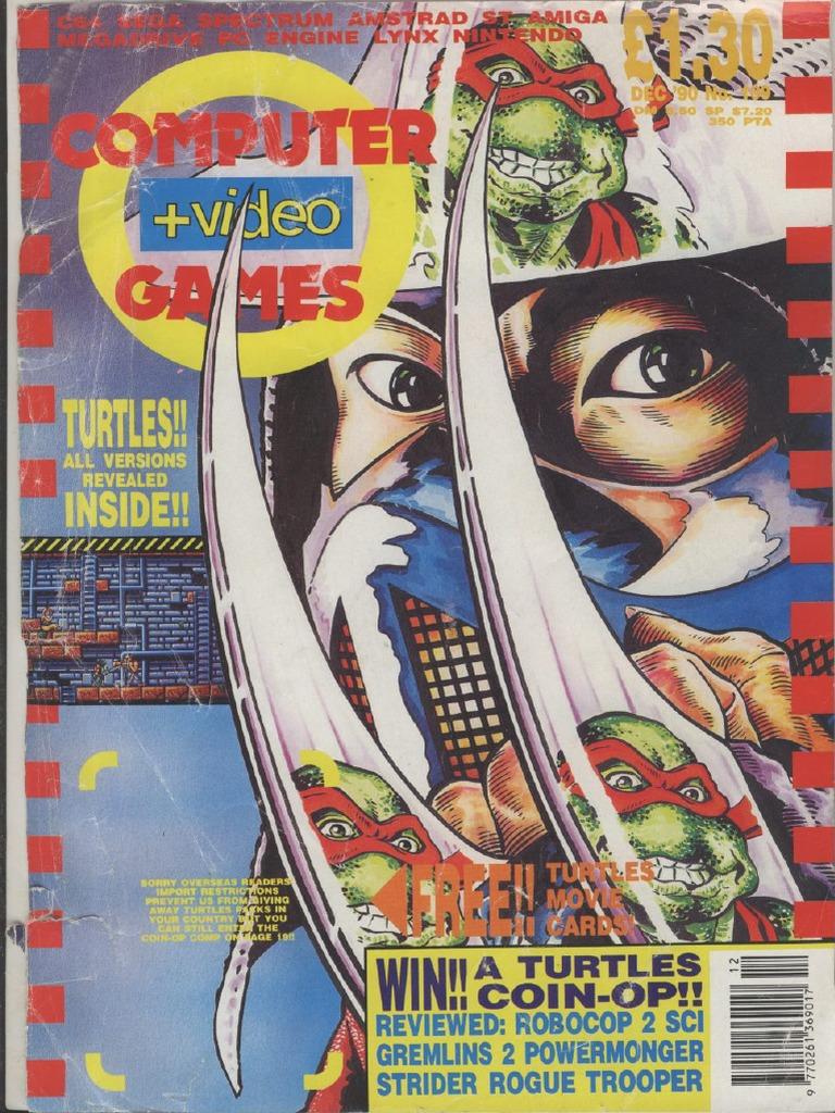 ComputerAndVideoGames 109 Dec 1990 - DocShare tips