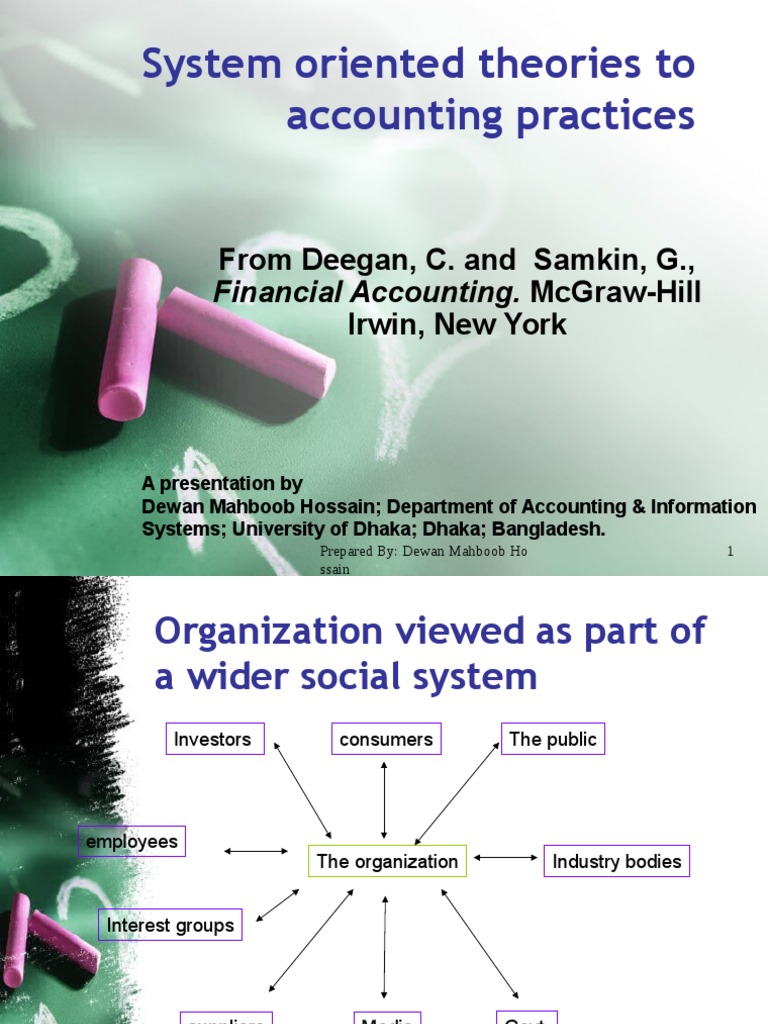 system oriented theories