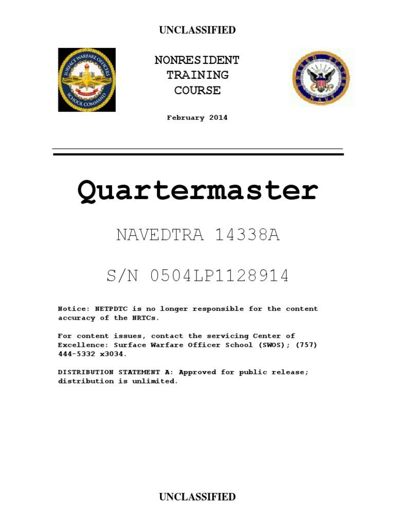 Us Navy Course Navedtra 14338 Quartermaster Ed2014 Circuit Breaker Wiring Diagram Symbol Moreover Decimals Worksheet 5th