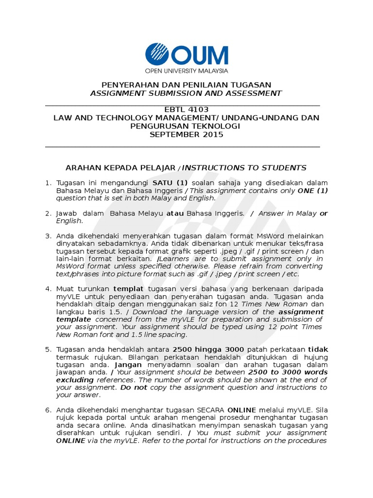 download technology management new assignment docshare tips format rujukan resume