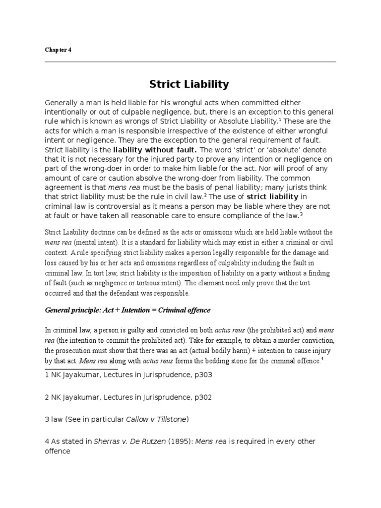 Strict Liability Docshare
