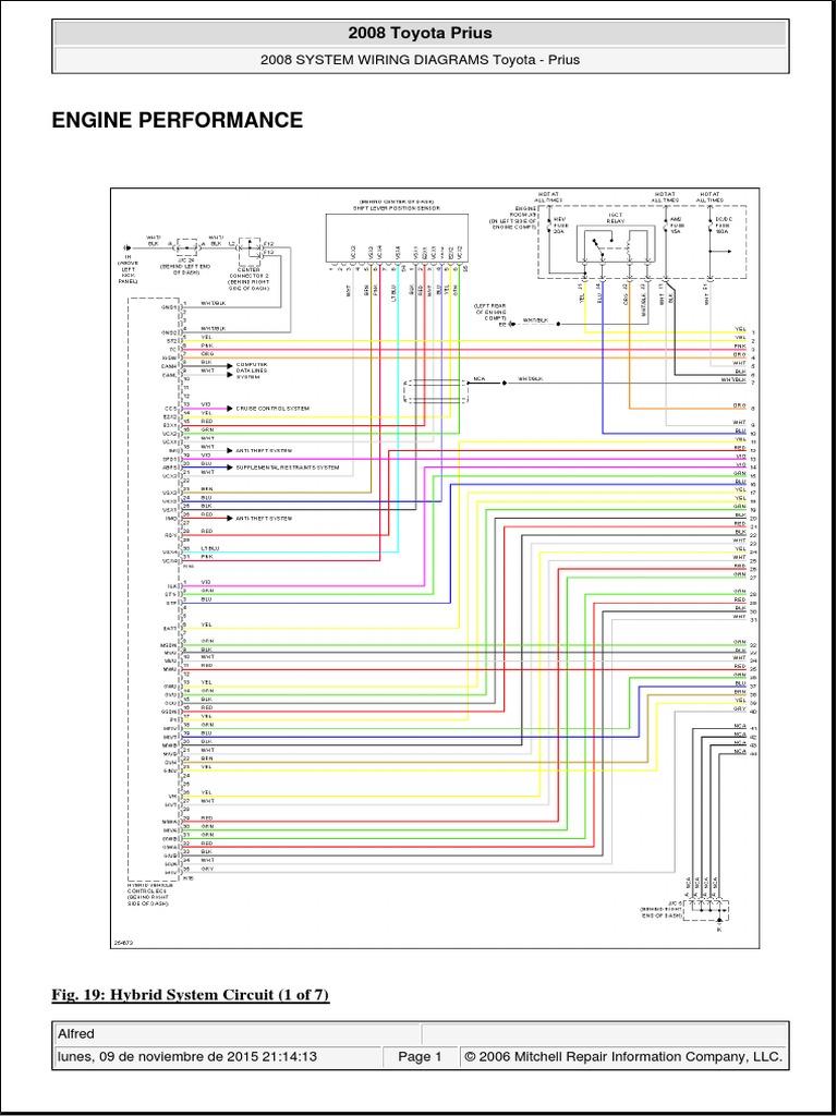 Diagramas Del Motor Hibrido Toyota Prius Mitchell Wiring Diagrams