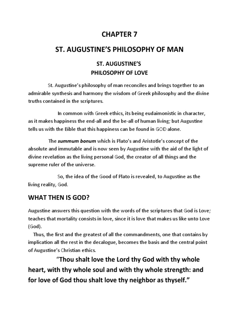 augustine on god and time essays