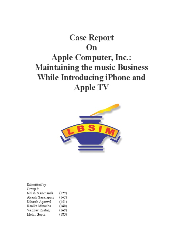 summary of apple computer inc maintaining the music business while introducing iphone and apple tv Free essays on apple s standardisation and adaptation for apple apple computer, inc: maintaining the music business while introducing iphone and apple tv.
