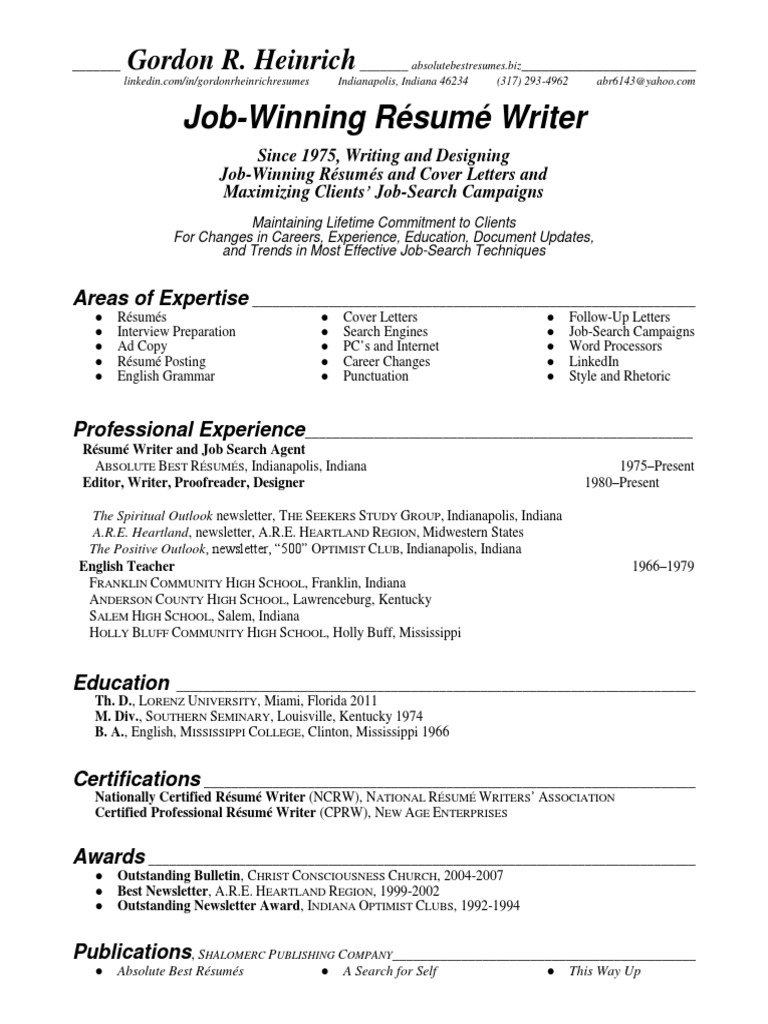 job search resume writer in indianapolis in resume gordon