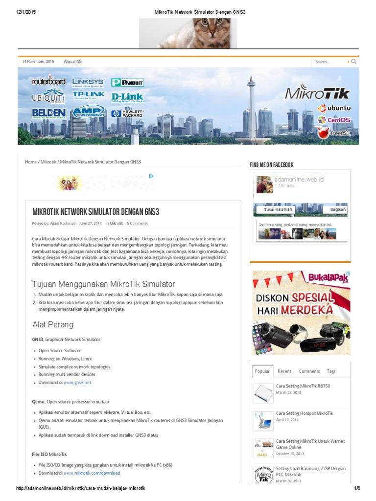 Virtual mikrotik router simulator download | MikroTik