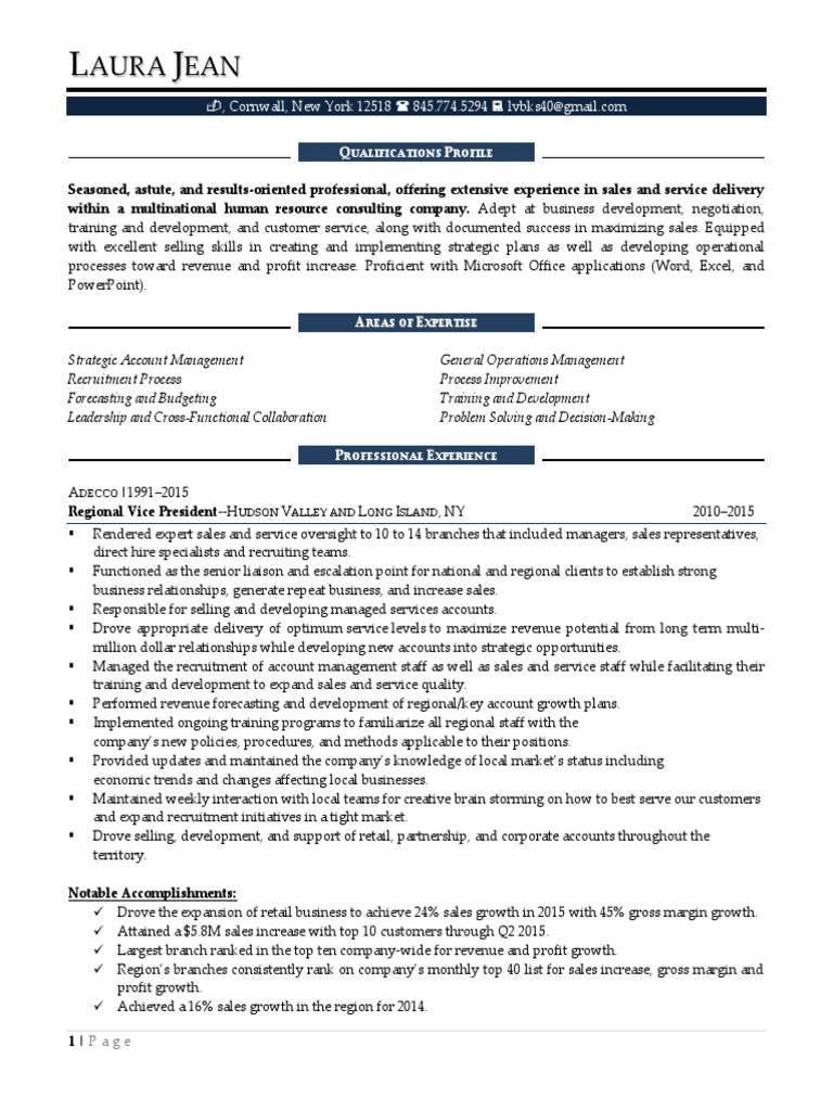 global account manager in new york city resume laura jean. Resume Example. Resume CV Cover Letter