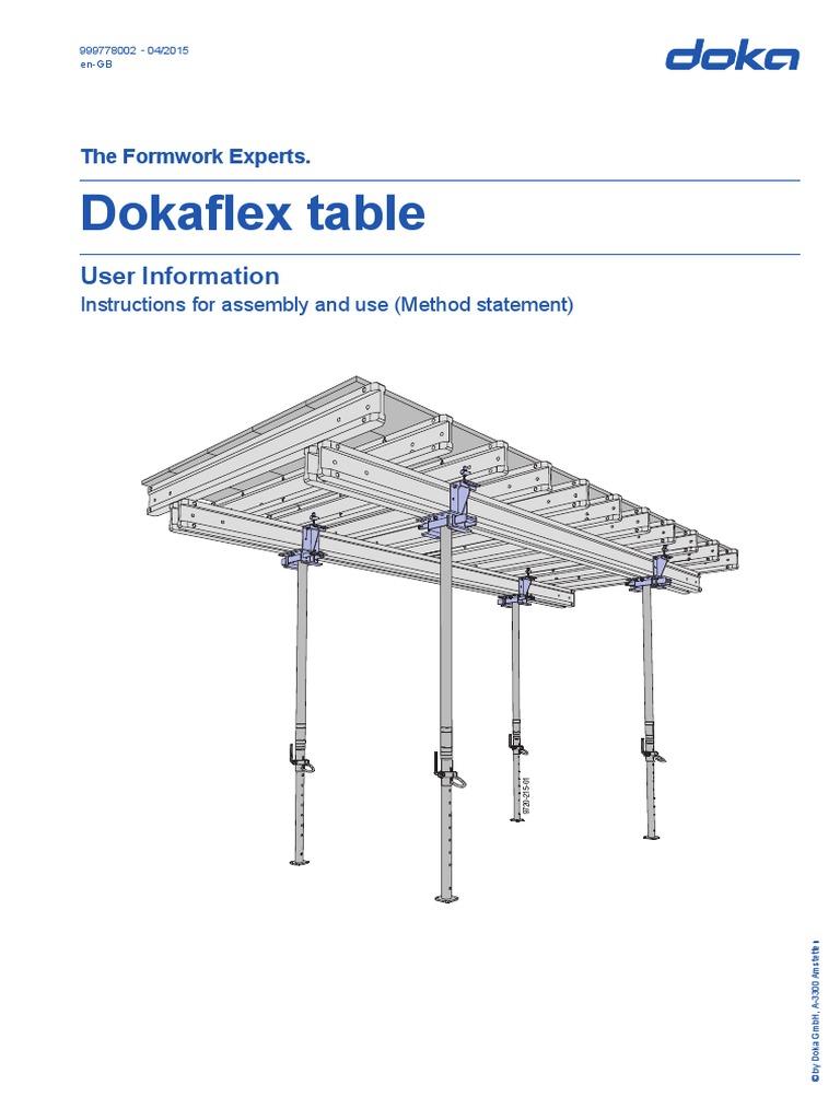 Doka table form for Html form table