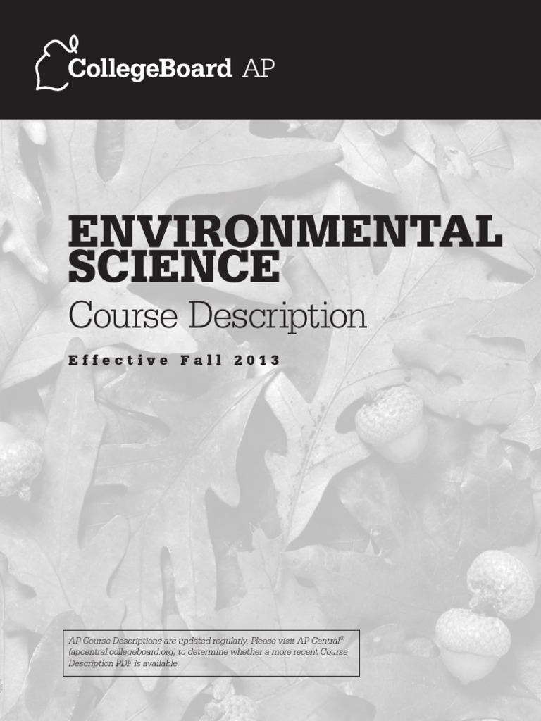 ap environmental science released essays 2014 ap ® environmental science free-response questions 4 biogeochemical cycles describe the movement of certain elements (typically bound with other elements in.