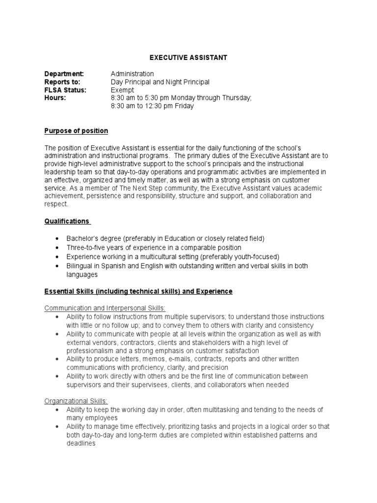 job description care assistant day night