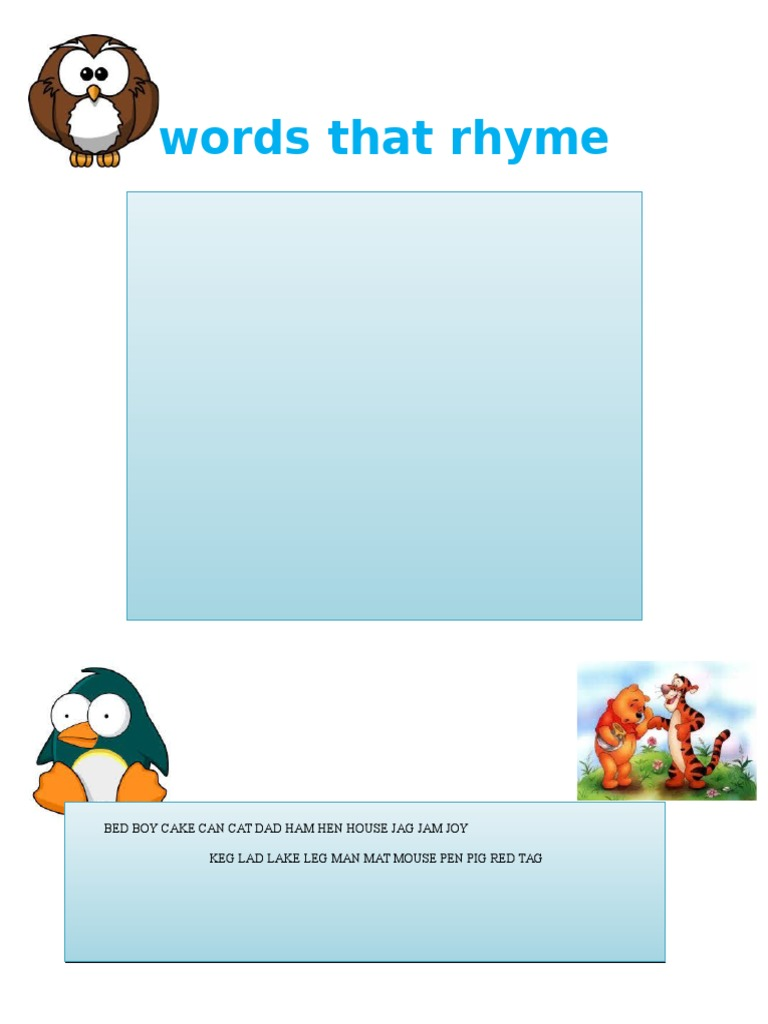 Words That Rhyme With Home 28 Images Words That Rhyme