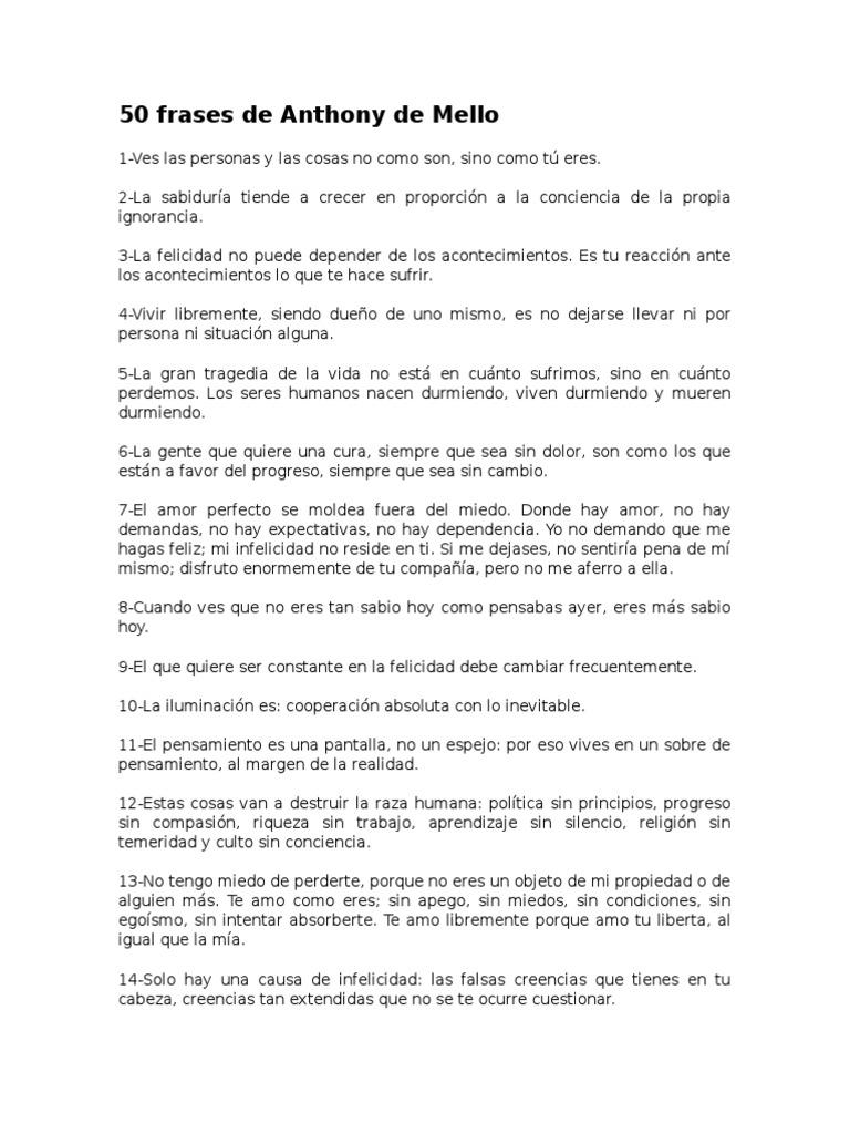 50 Frases De Anthony De Mello Docsharetips
