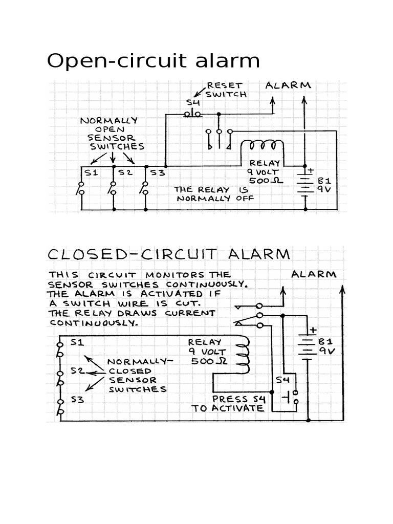 Download Study Construction Of Burglar Alarm Intruder Circuit Projects