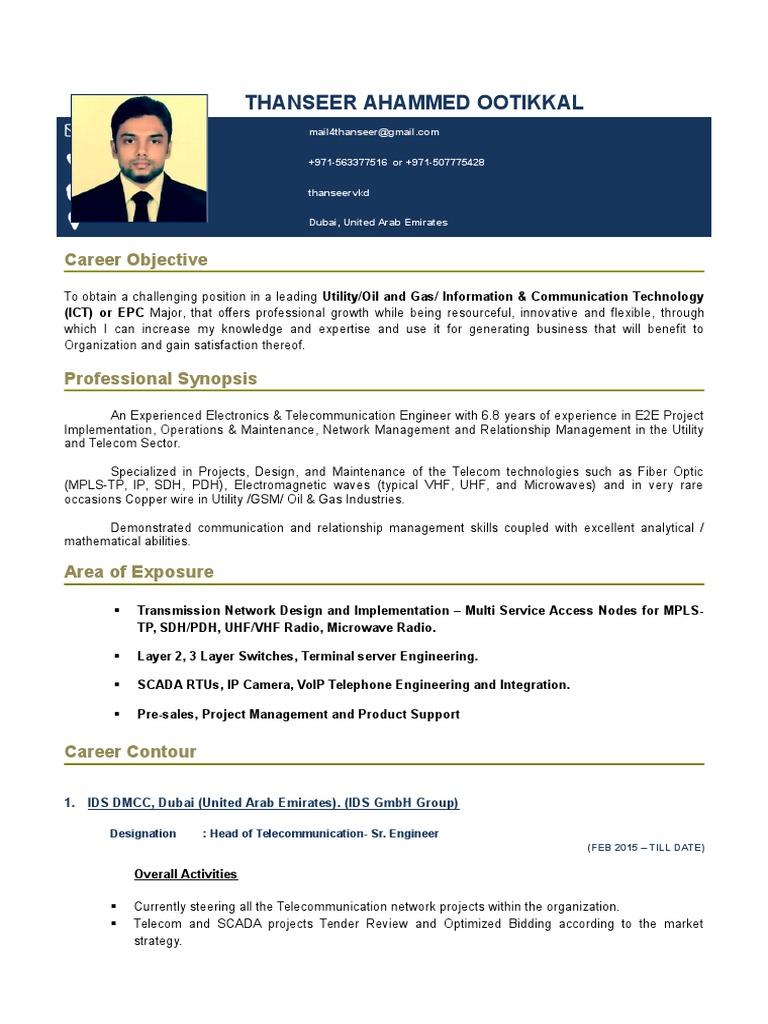 telecom implementation engineer sample resume telecom implementation engineer sample resume - Implementation Engineer Sample Resume